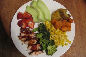 Recipe – BBQ Chicken with Assorted Veggies